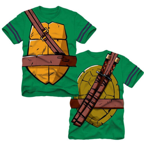 Baby Kinder Jungen TMNT Teenage Mutant Ninja Turtles  Sommer Kurzarm T-shirt Top