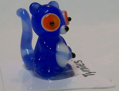 bebe bush baby blue TYNIES Tiny Glass Figure Figurine Collectibles 0135 NEW