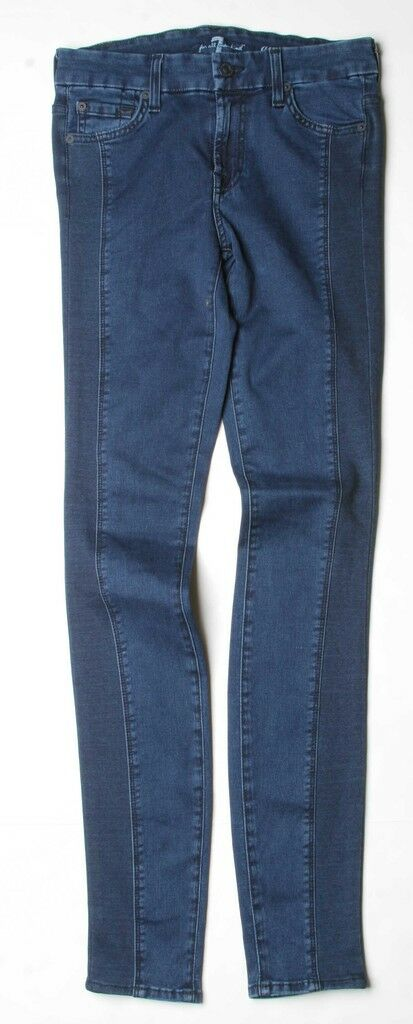 7 For All Mankind Gwenevere Jeans (27) Indigo AU0162660