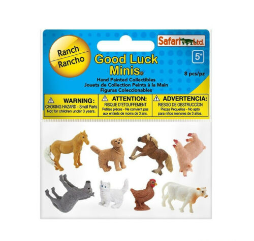 GOOD LUCK MINIS RANCH 100107 ~ New//2017 ~ FREE SHIP//USA w// $25 Safari Product