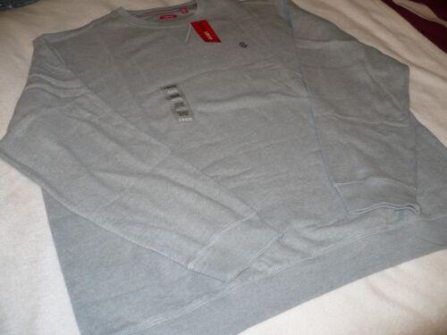 $60 Nouveau Neuf avec étiquettes Izod Homme Pull à encolure ras-du-cou Imitation Daim Polaire Pullover Big /& Tall