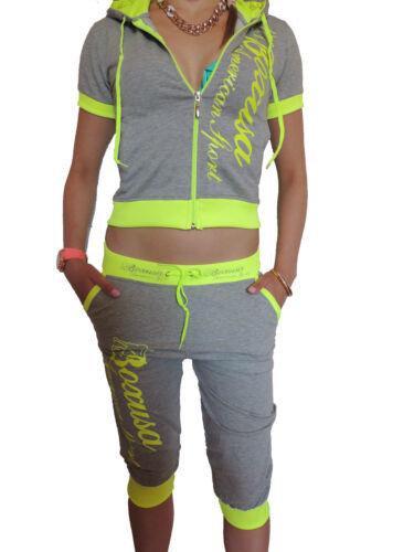 Damen Jogginganzug S M L XL Jacke Sportanzug Sporthose Fitness Jogging Hose