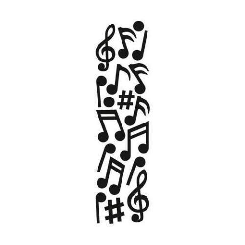 Marianne Craftables Punch Die: Music cut and emboss die CR1367