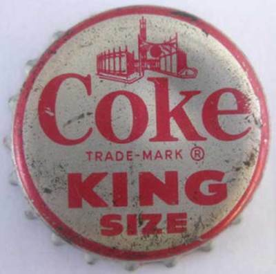 Jefferson City Bottle CAP MISSOURI COKE CLASSIC 8-2319 Soda CROWN Coca-Cola