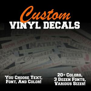 Custom-Vinyl-Lettering-Decal-Personalized-Sticker-Window-Text-Name-Car-Wall