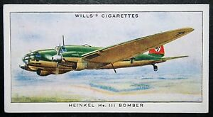 HEINKEL HE111    Luftwaffe Bomber    Vintage 1930039s Colour Card  VGC - Melbourne, Derbyshire, United Kingdom - Returns accepted Most purchases from business sellers are protected by the Consumer Contract Regulations 2013 which give you the right to cancel the purchase within 14 days after the day you receive the item. Find o - Melbourne, Derbyshire, United Kingdom