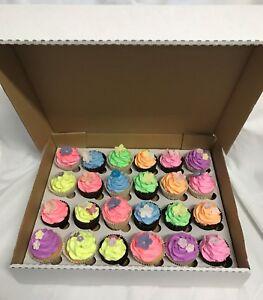 16 x Solide Blanc Heavy Duty Cupcake Muffin Boîtes Pour 24 Tasse Cakes-afficher le titre d`origine 8rlnBsjt-07212541-722277118