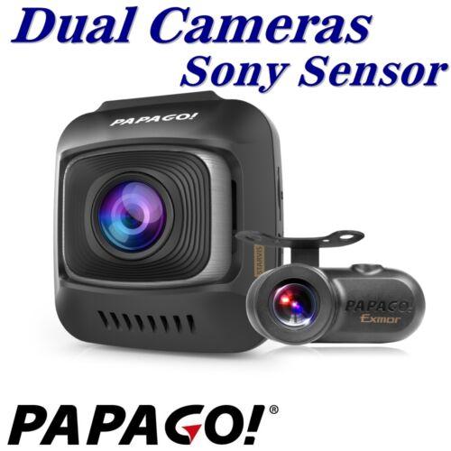 PAPAGO GoSafe S780 GPS Dual Cameras w SONY Sensors// 150° wide angle//night vision