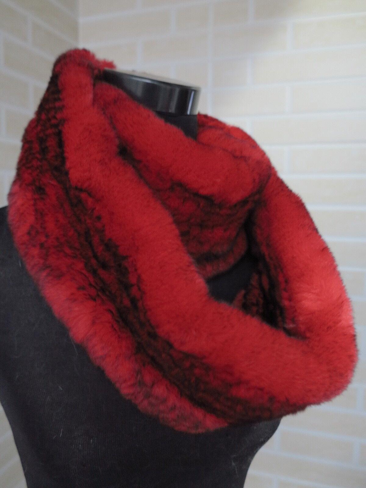 Circle Real rabbit fur scarf/ fur collar warm & fastion