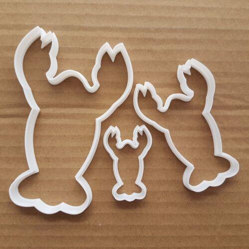 Homard Animal écrevisse Forme Cookie Cutter Beach Biscuit Pâtisserie Fondant Sharp