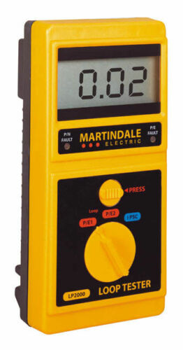 Kewtech Martindale etc Megger Calibration Service of Loop Tester Fluke