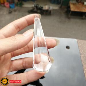 Clear-100mm-Crystal-Chandelier-Lamp-Part-Drop-Prism-Rainbow-Suncatcher-Pendant