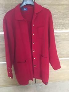 lsaint jalmes veste rouge femme
