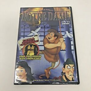 Notre-Dame-DVD-Movie-Video-Cartoon-New-Sealed-Hunchback-East-West-Entertainment