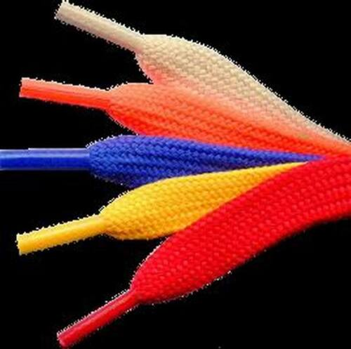 NEW 96 INCH WIDE SHOELACES COLOR SHOE LACE BASKETBALL FOOTBALL ROLLERSKATES XXL