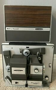Bell & Howell Autoload Model 456A Regular and Super 8 8mm Movie Projector V11