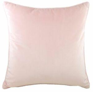 Evans-Lichfield-Morbido-Velluto-Copricuscino-O-Pieno-Rosa-Large-56cm-x-56cm