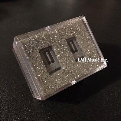 Queen.Y Dual-Nadel-Stereo-Stylus Langlebiges Zubeh/ör f/ür Rubin Und Saphir-Plattenspieler