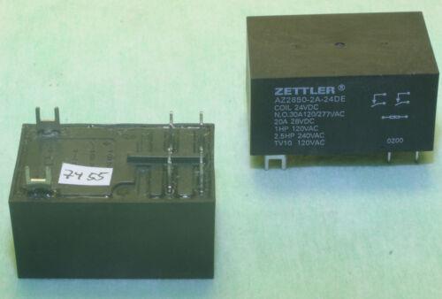 Zettler AZ2850-2A-24DE                                       7455 Relais Last