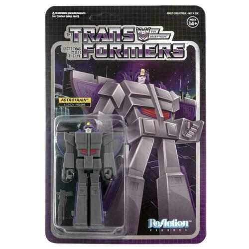 Transformers Super 7 Reaction Astrotrain ACTION FIGURE NEW EN STOCK
