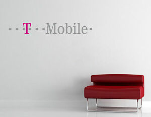 T-Mobile Wall Decal Vinyl Sticker Art Decor T Mobile EXTRA LARGE L133