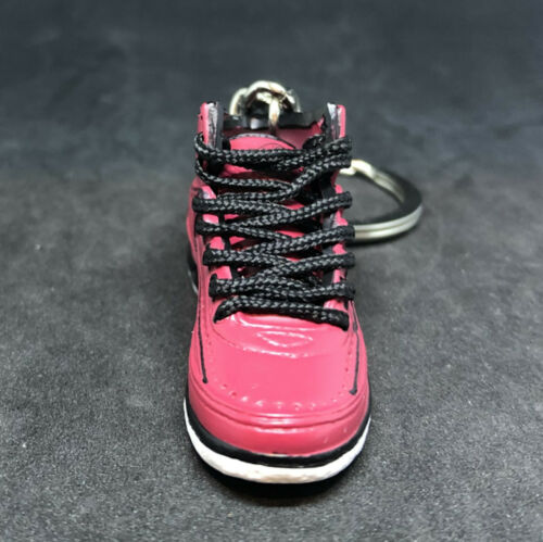 AIR JORDAN II 2 RETRO QF CANDY PACK RED OG KEYCHAIN 3D SNEAKERS SHOES 1:6 FIGURE