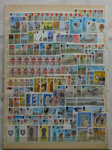 ISLE OF MAN 1973-87 MNH COLLECTION OF SETS & MINI SHEETS, FACE VALUE APPROX £85