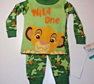 50365da21 New Disney Lion Guard baby toddler boys pajamas 9M 12M 18M 24M ...