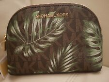 0d68497c4636fd item 2 NEW WT Michael Kors Jet Set Large Travel Pouch/Cosmetic Case BROWN Olive  Leaf -NEW WT Michael Kors Jet Set Large Travel Pouch/Cosmetic Case BROWN ...
