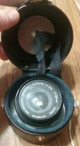 Olympus-Zuiko-OM-Auto-W-28mm-f-3-5-MF-Lens-w-Case