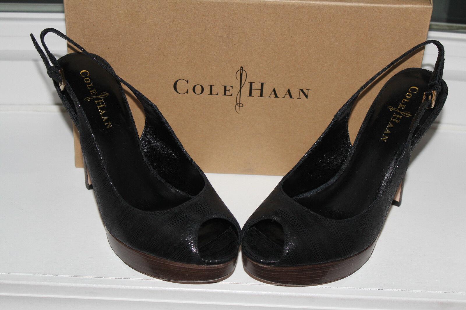 COLE HAAN MARIELA AIR OT SLING noir noir noir EXOTIC PRINT  9us  327 99f815
