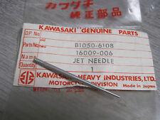 KAWASAKI NOS CARB NEEDLE A7 F21M A7SS B1   16009-006