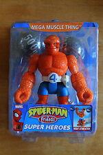 "Spider-Man & Friends Marvel Super Heroes MEGA MUSCLE THING 6"" figure"