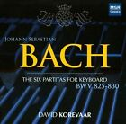 Bach: The Six Partitas for Keyboard (CD, Mar-2013, 2 Discs, MSR Classics)