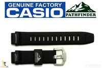 Casio Pathfinder Paw-2000 Original 18mm Black Rubber Watch Band Strap