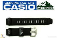 Casio Pathfinder Paw-2000 Original 18mm Black Rubber Watch Band Strap