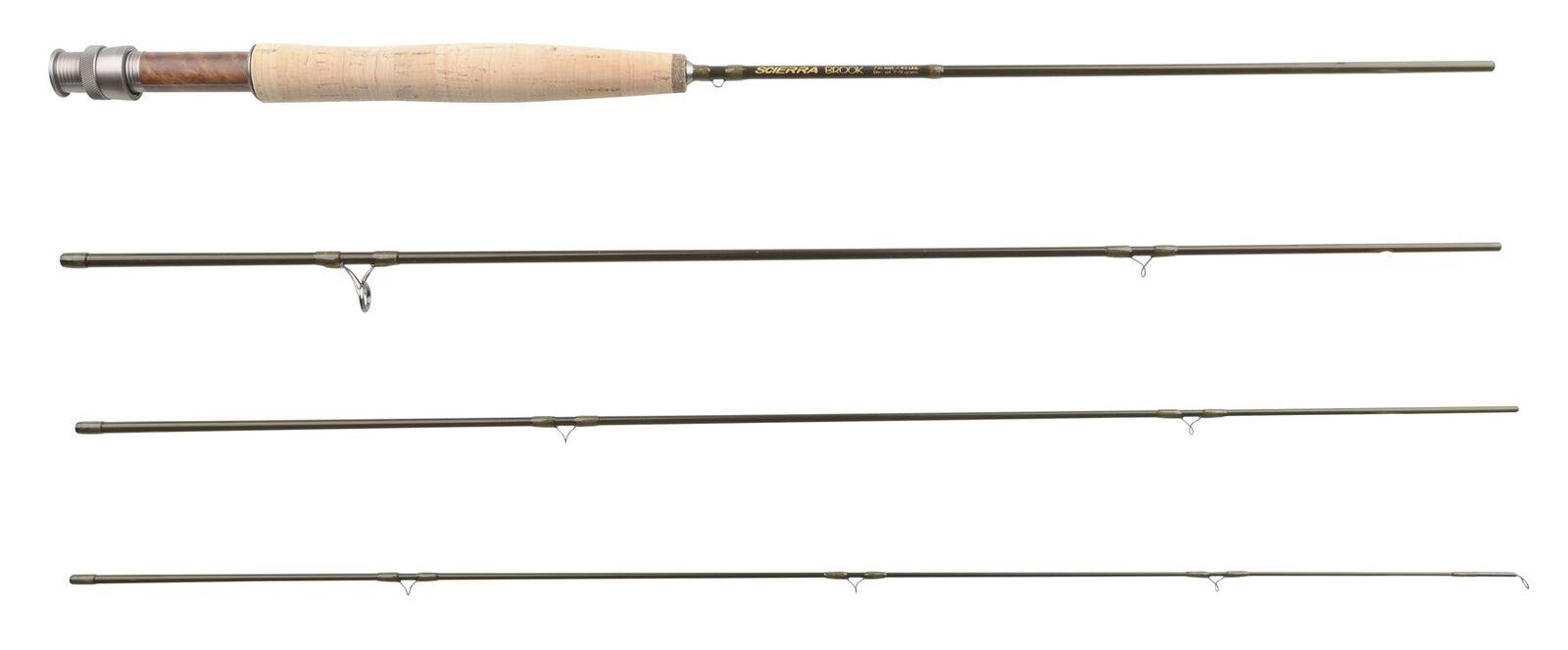 Scierra Brook 7' sec Rec. Wt. 5-7g  rod (Fly Fishing Fishing)  popular