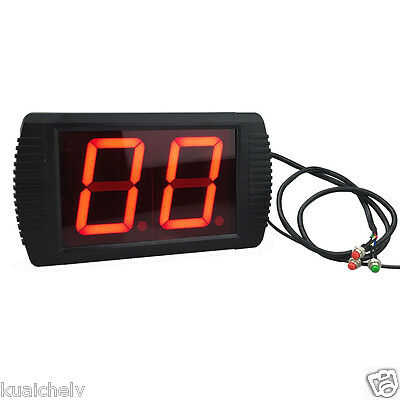"3/"" LED Counter by Buttons LED Digital Counter 3 Digits up to 999 Numers"
