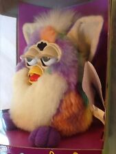 """Furby """"RARE TIE-DYE"""" 1999 Tiger Electronic Toy 70-800 NEW UNOPENED Christmas gif"""
