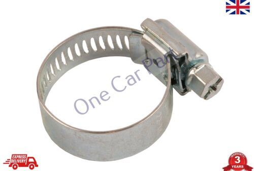 Jubilee Type Worm-Drive Hose Clips Range 22mm to 36mm.