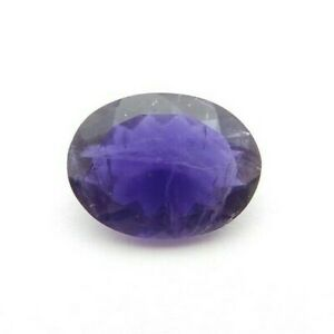 Natural Iolite Loose Gemstone 13.6X10 mm Oval Cut - 4-Ct - S31