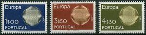 Portugal-CEPT-N-1092-1094-cachet-Michel-30-00-Neuf-sans-charniere-1968-Europe
