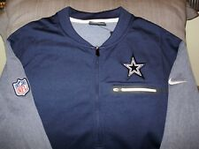 item 1 NFL Dallas Cowboys Nike Dri-Fit Coaches Circuit 1 2 Zip Golf Jacket  Men s Large -NFL Dallas Cowboys Nike Dri-Fit Coaches Circuit 1 2 Zip Golf  Jacket ... e80ad05f0