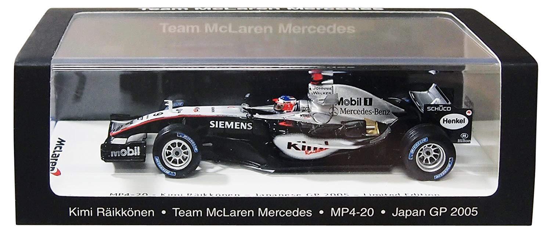 alta calidad Spark 1 1 1 43 McLaren MP4-20 2005 Japón Grand Prix ganador  9 Kimi Raikkonen VMM1376 Nuevo F S  El ultimo 2018