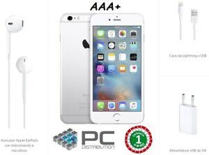 APPLE IPHONE 6S 32GB SILVER RICONDIZIONATO AAA+ 4.7' LTE 4G 12MP ACCESSORI NUOVI