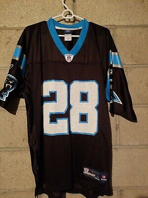 NFL Carolina Panthers Jonathan Stewart Reebok Authentic Jersey Mens Medium   eBay