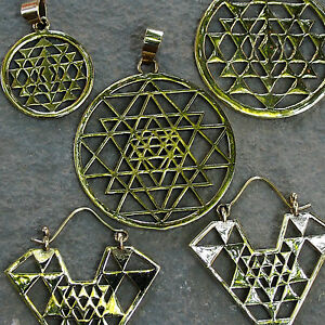 Sri yantra pendants brass yoga jewellery sacred geometry necklace la foto se est cargando sri yantra pendants brass yoga jewellery sacred geometry aloadofball Gallery