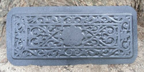 "Victorian plastic mold plaster cement mould multi use 21/"" x 8/"" x 1.20/"" thick"