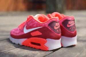Details about (631748 601) Men's Nike Air Max 90 Ice *Laser CrimsonWhiteLegion Red Size 12