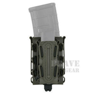 Soft Shell MOLLE Mag Carrier Rifle 5.56 7.62 Pistol Mag Pouch Case